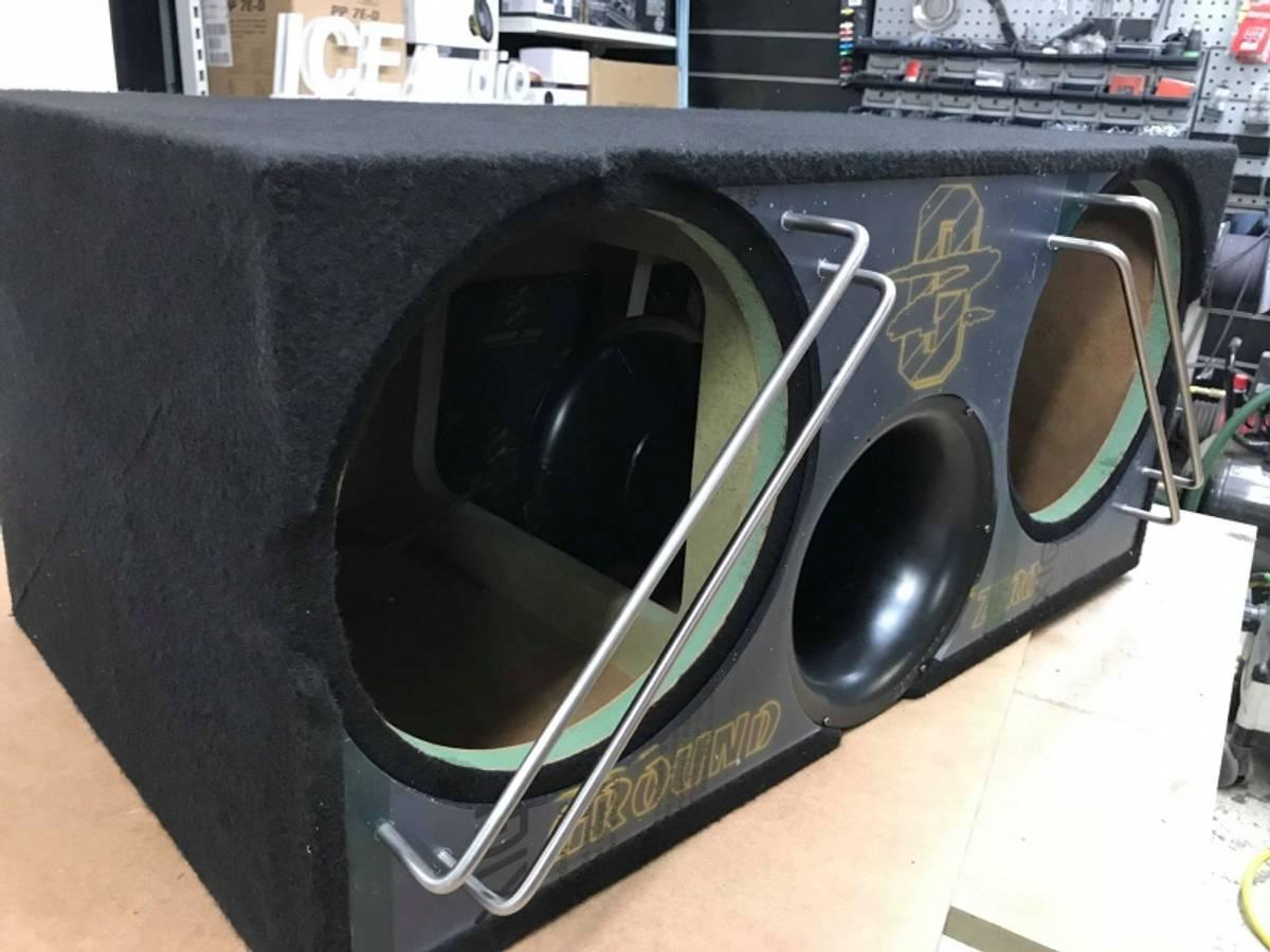 Custom basskasse 12