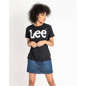 Bilde av Lee Logo t-skjorte Sort