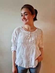 Bilde av Bluse One Size Hvit