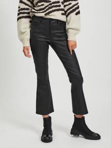 Bilde av Belle Coated Flare Jeans Sort