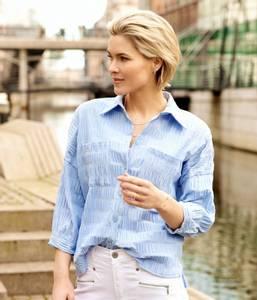 Bilde av Estha Skjorte Forever Blue