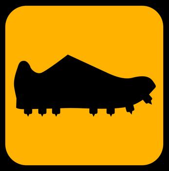 O-sko med pigg