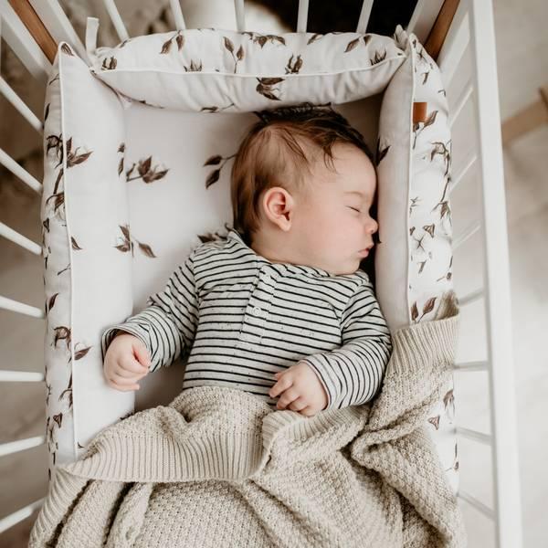 Bilde av Babynest Firkantet - Dobbeltsidig - Gossypium