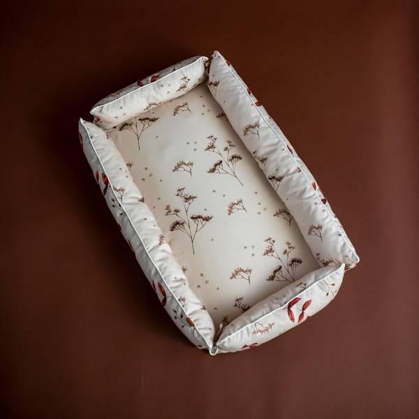 Bilde av Babynest Firkantet - Dobbeltsidig - Mantulien