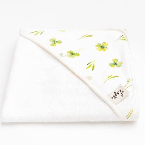 Bilde av Babyhåndkle - 100% Bambus - Layette - Clover