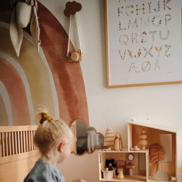 Bilde av Plakat Norsk Alfabet 50x70cm - Mushie