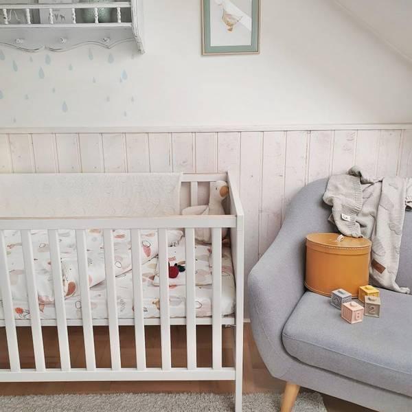 Bilde av Sengesett Babypakke - 100% Bambus - Layette - Gås