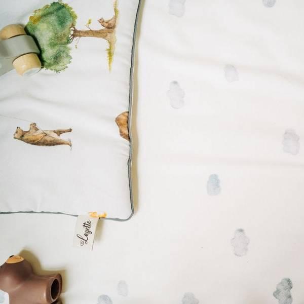 Bilde av Sengesett Babypakke - 100% Bambus - Layette - Clouds&Teddy