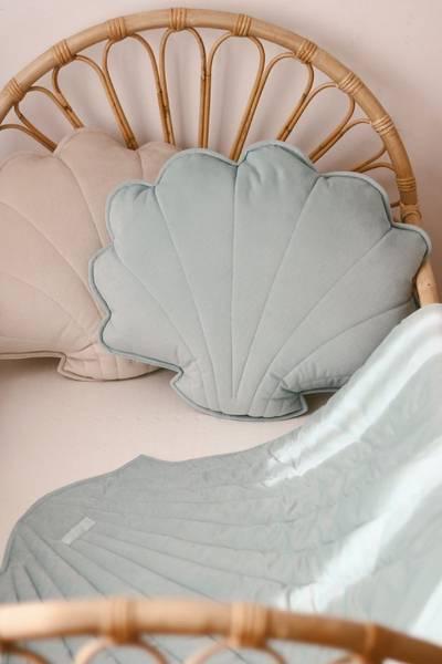 Bilde av Leketeppe - Fløyel - MoiMili - Powder Mint
