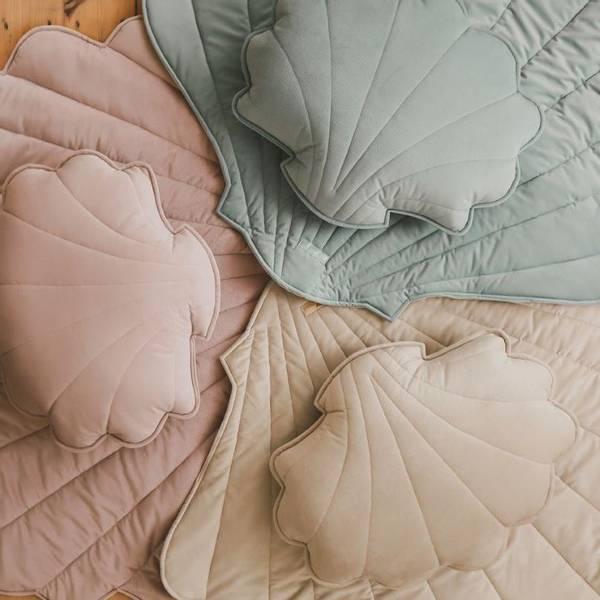 Bilde av Leketeppe - Fløyel - MoiMili - Powder Pink