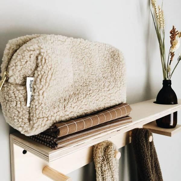 Bilde av Stellemappe / Toalettmappe - Studio Noos - Chunky Teddy -
