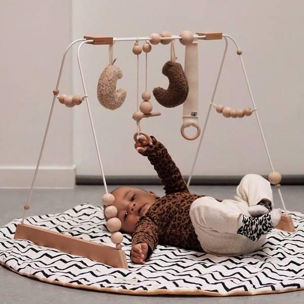 Bilde av Babygym i Tre - &Me - Beige