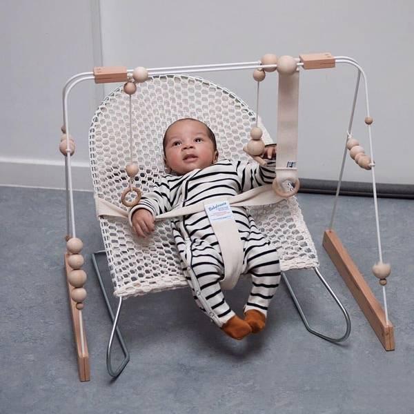 Bilde av Babygym i Tre - &Me - Hvit