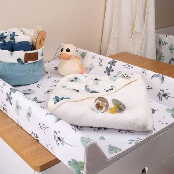 Bilde av Babyhåndkle - 100% Bambus - Layette - Moonlight