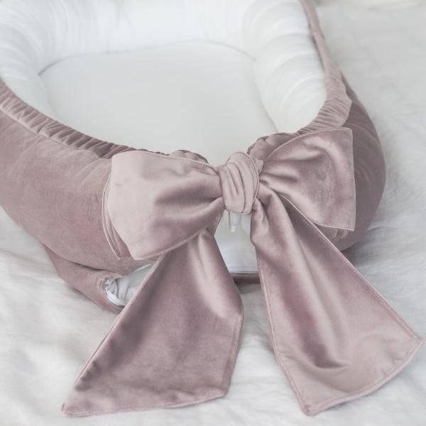 Bilde av Babynest Fløyel - Babyly - Lilla