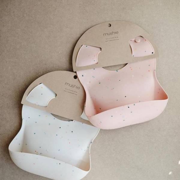 Bilde av Smekke Silikon - Mushie - Vanilla Confetti