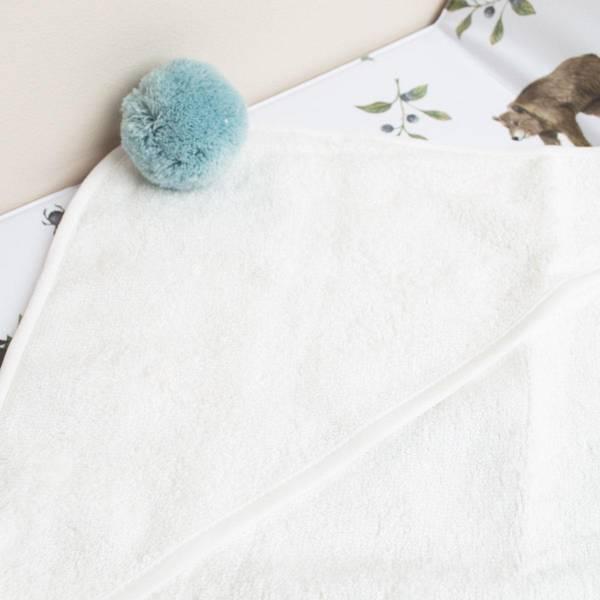 Bilde av Babyhåndkle - 100% Bambus - BimBla - Blå Dusk