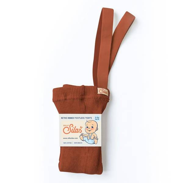 Bilde av Babytights Rib med Sele - Silly Silas - Cinnamon