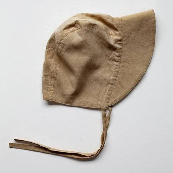 Bilde av Solhatt med knyting - The Simple Folk - Økologisk Lin -