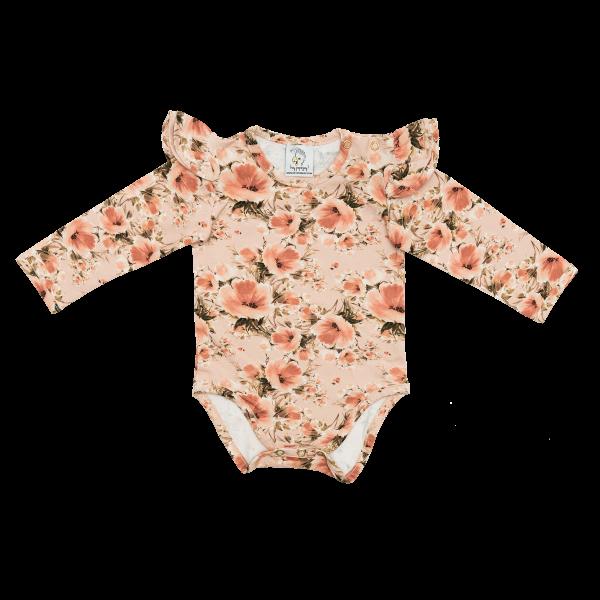 Bilde av Baby Body & Lue 56/62 - Babyklær - Hey Popinjay - Poppies