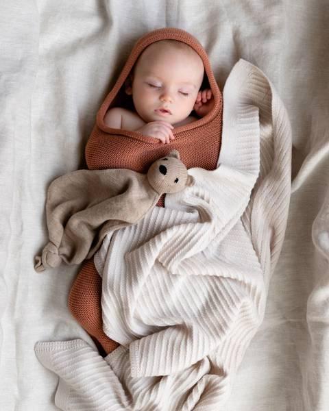 Bilde av Babyteppe - 70x95 - Merinoull - Hvid - Off-white - Akira