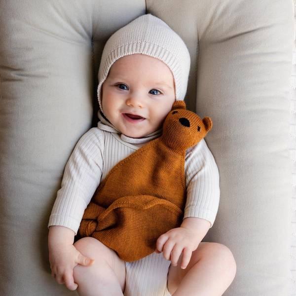 Bilde av Babynest - Snuggle Me Organic - Beige