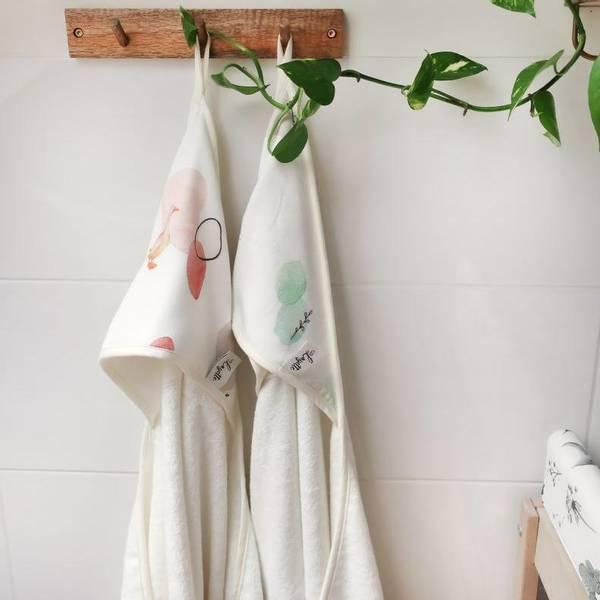 Bilde av Babyhåndkle - 100% Bambus - Layette - Kanin