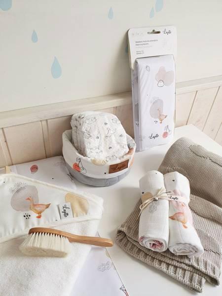 Bilde av Babyteppe - 80x100 - Bambus - Layette - Beige