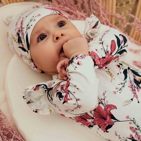 Bilde av Baby Body & Lue 56/62 - Babyklær - Hey Popinjay - Lily