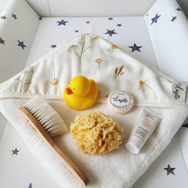 Bilde av Babyhåndkle - 100% Bambus - Layette - Camomile
