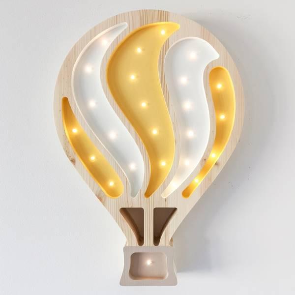 Bilde av Nattlampe Lumimi - Furu & LED - Luftballong