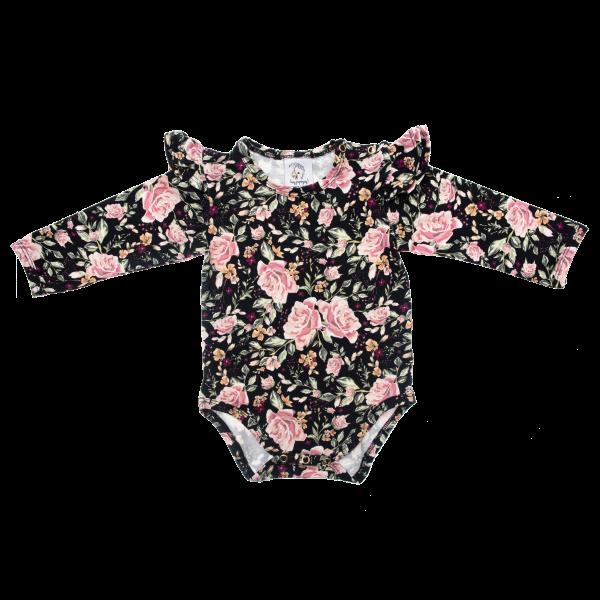 Bilde av Baby Body & Lue 56/62 - Babyklær - Hey Popinjay - Black