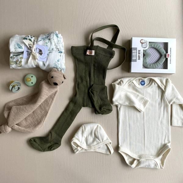 Bilde av Gavepakke til Sommerbaby - Grønn