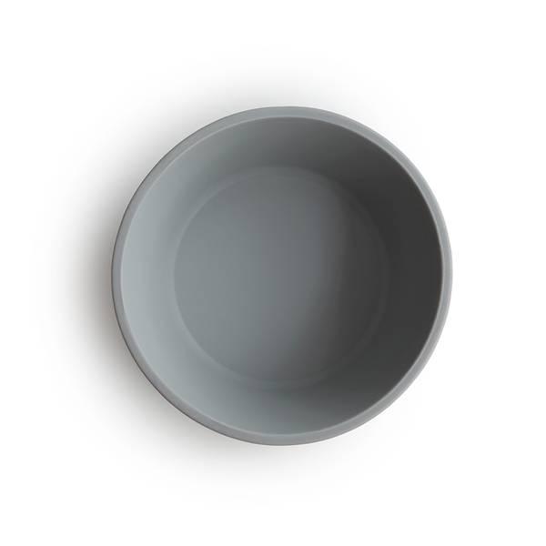 Bilde av Skål - Silikon med Sugefunksjon - Mushie - Cloud