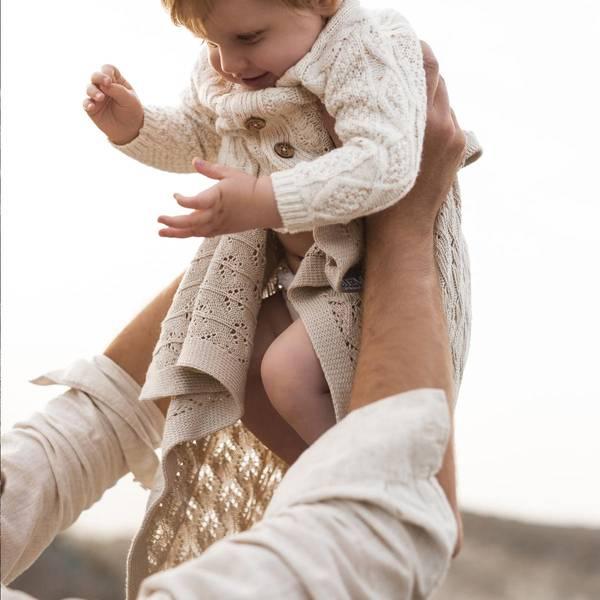 Bilde av Babyteppe - 80x100 - Bambus - MyMemi - Beige
