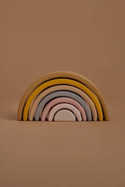 Bilde av Stableleke av Naturlig Tre - Regnbue Sand - Raduga Grez