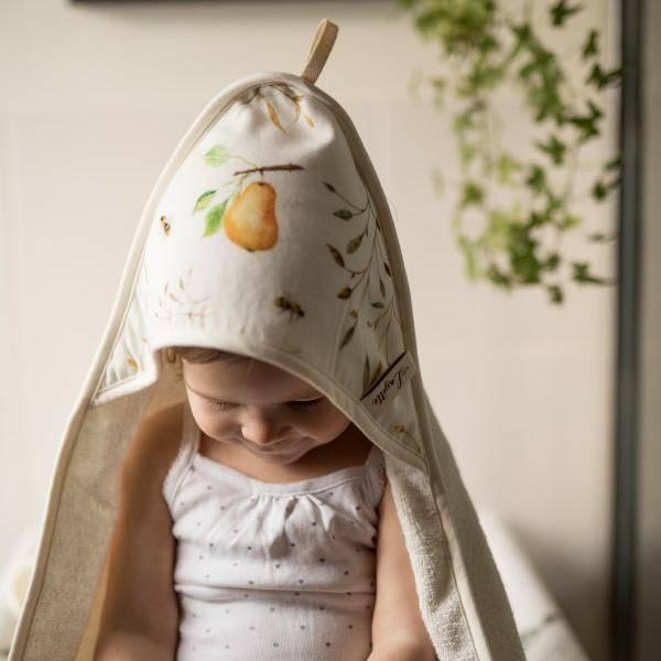 Bilde av Babyhåndkle - 100% Bambus - Layette - Orchand