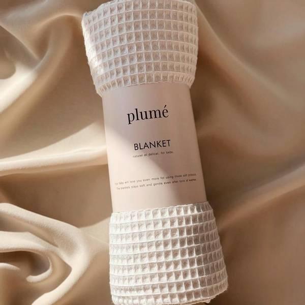 Bilde av Babyteppe - 75x100 - Bomull - Plume - Cream