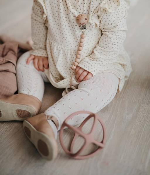 Bilde av Biteleke Baby Ball - Silikon - Mushie - Sand
