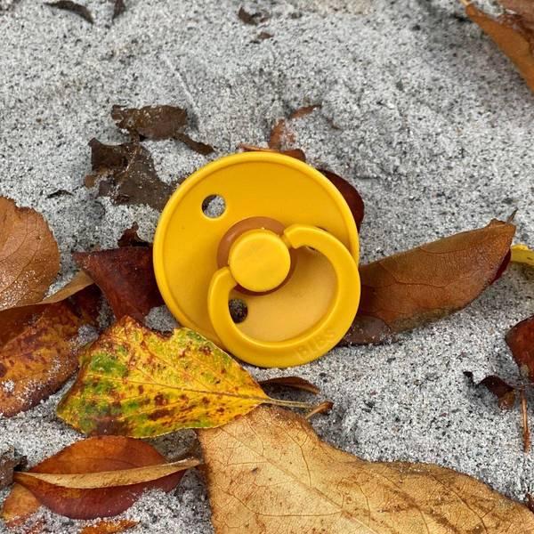 Bilde av Bibs Smokk Naturgummi - Honey Bee