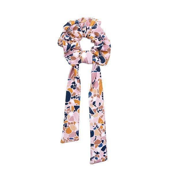 Bilde av Scrunchie med sløyfe - One Size - UL&KA - Lastrico