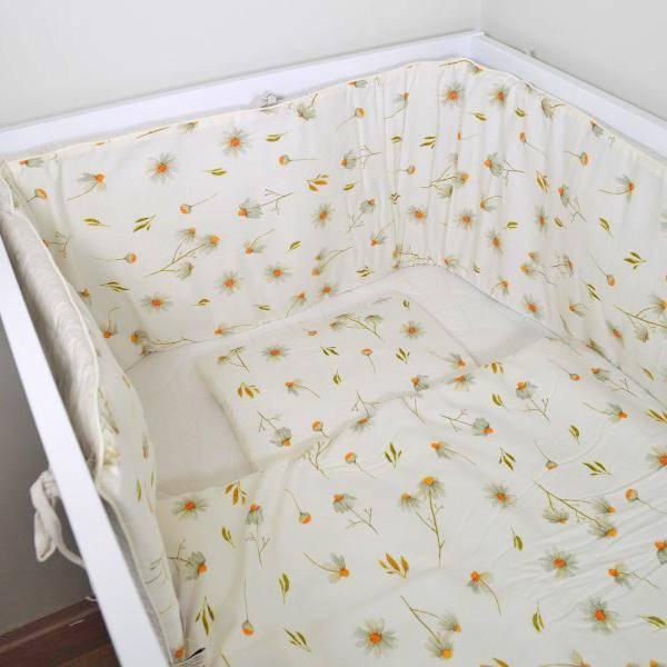 Bilde av Sengekant Baby - Sprinkelseng - Layette - Camomile
