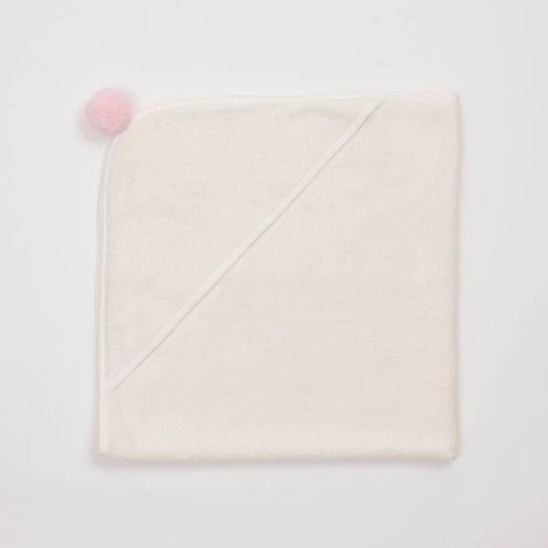 Bilde av Babyhåndkle - 100% Bambus - BimBla - Rosa Dusk