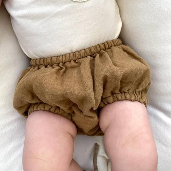 Bilde av Bloomer/Babyshorts - The Simple Folk - Økologisk Lin -