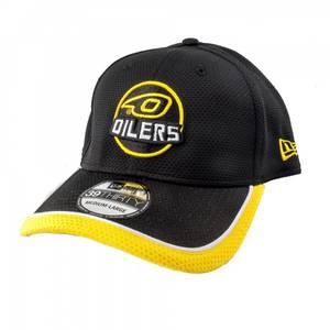 Bilde av New Era 39THIRTY Caps med Oilerslogo og gule