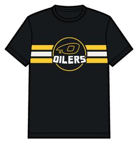 Bilde av T-skjorte logo og striper - barn