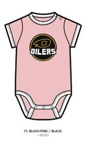 Bilde av Body rosa med Oilerslogo