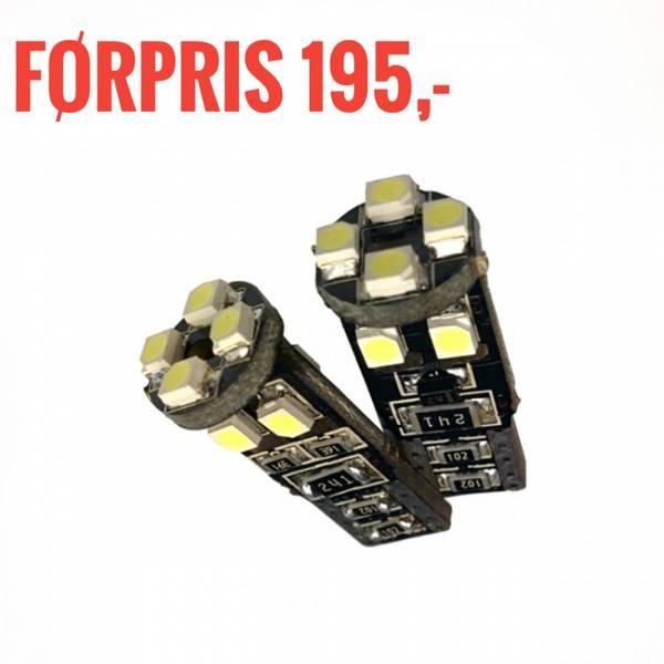 Bilde av LED canbus diodepære W5