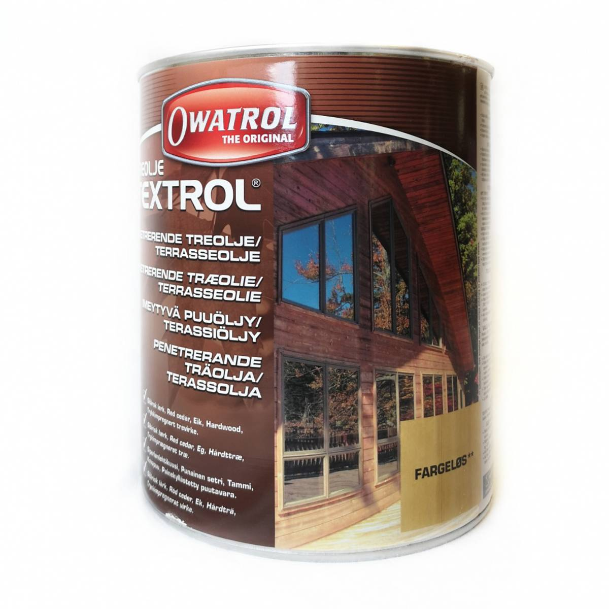 Owatrol Textrol Treolje 2,5 l Fargeløs