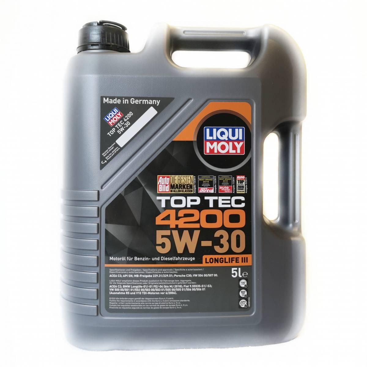 Liqui Moly Top Tec 4200 5W30 C3